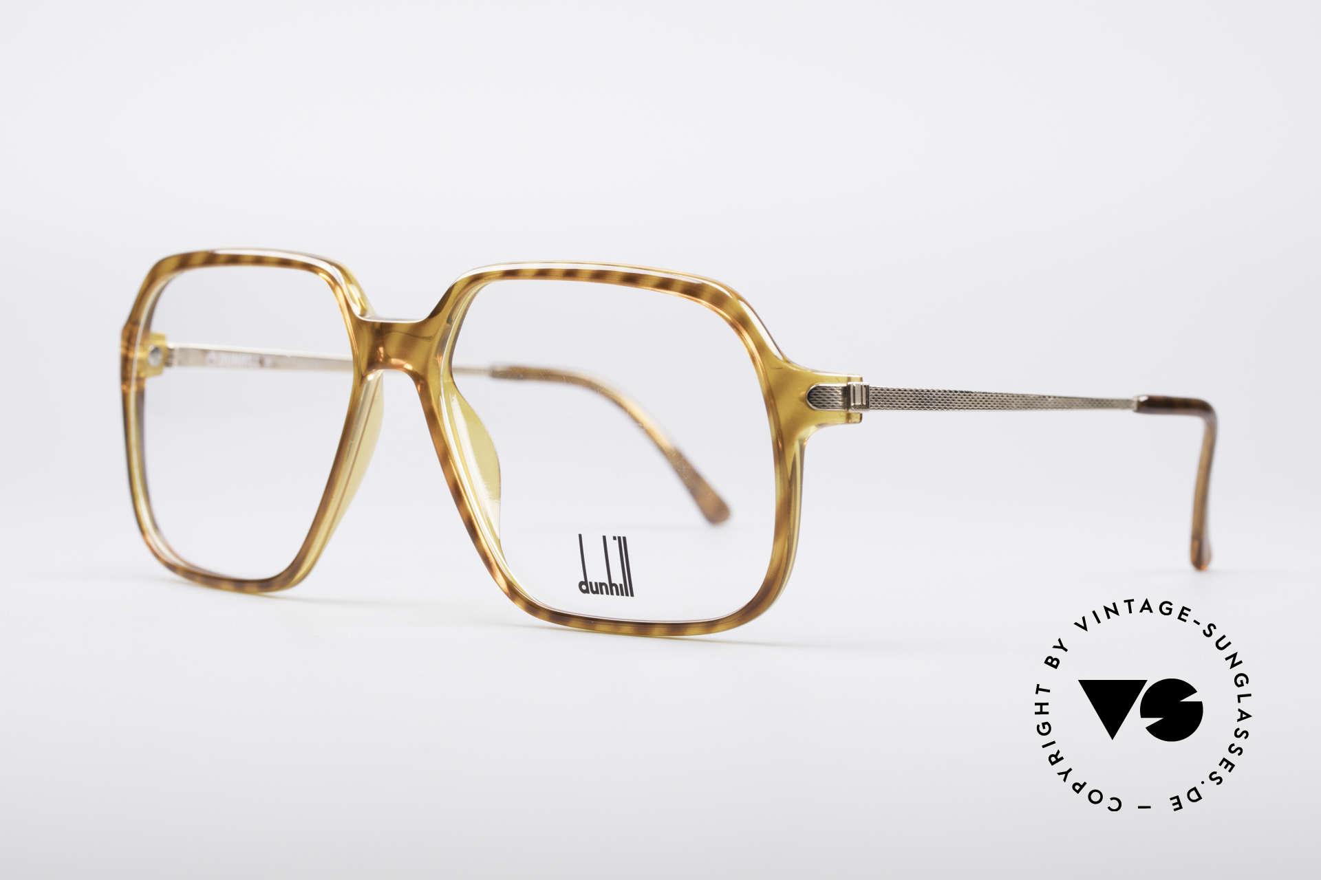 Dunhill 6108 Jay Z Hip Hop Vintage Brille, dennoch leicht & komfortabel, da Optyl Material, Passend für Herren