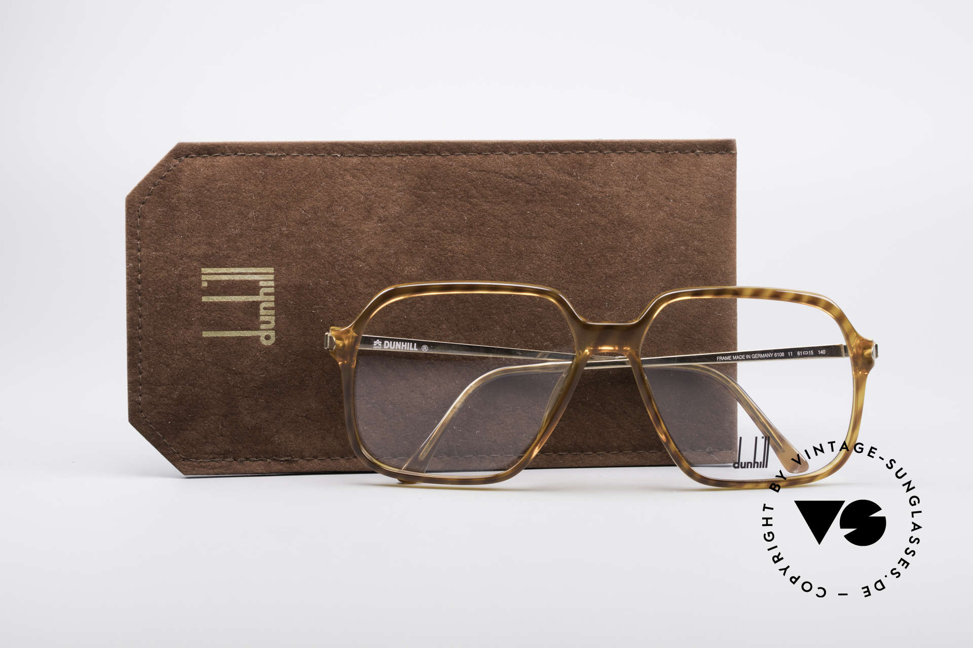 Dunhill 6108 Jay Z Hip Hop Vintage Brille, 6108: extrem ähnlich der vintage Dunhill 6089 Brille, Passend für Herren