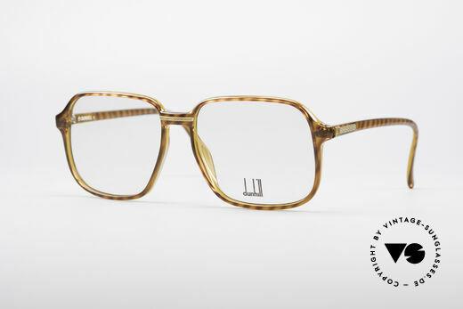 Dunhill 6060 Klassische 80er Brille Vintage Details