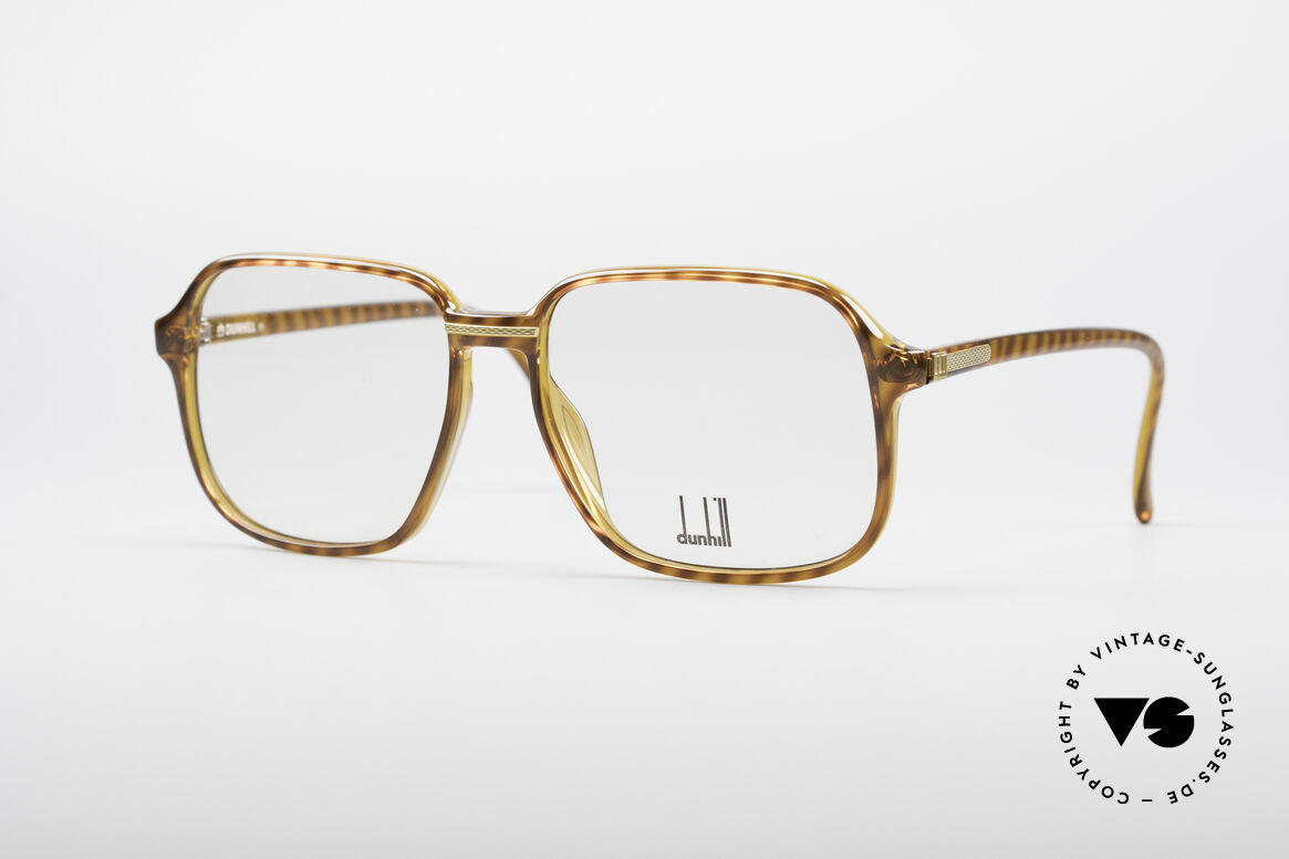 Dunhill 6060 Klassische 80er Brille Vintage, sehr markante vintage Dunhill Herrenbrille von 1987, Passend für Herren