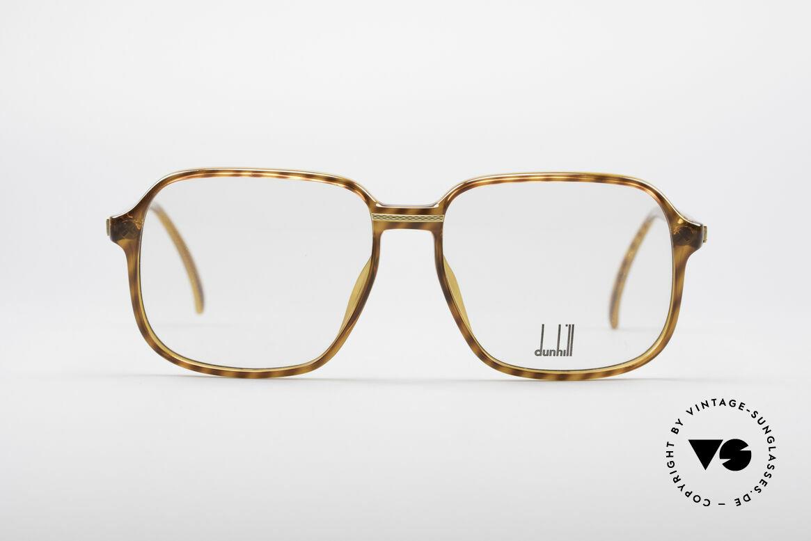 Dunhill 6060 Klassische 80er Brille Vintage, enorm hochwertig, da einzigartiger OPTYL-Rahmen, Passend für Herren