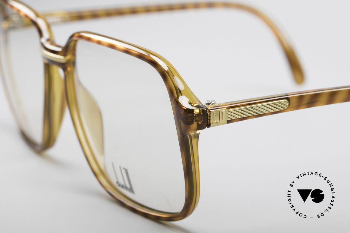 Dunhill 6060 Klassische 80er Brille Vintage, daher sehr angenehm zu tragen (muss man fühlen), Passend für Herren