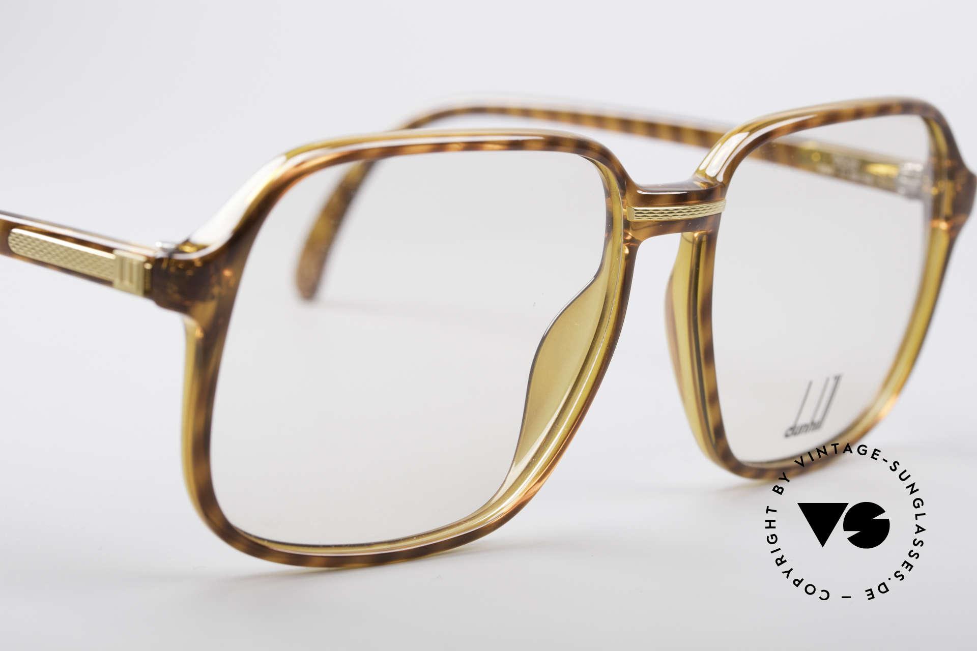 Dunhill 6060 Klassische 80er Brille Vintage, unbenutzt (wie alle unsere alten DUNHILL Originale), Passend für Herren