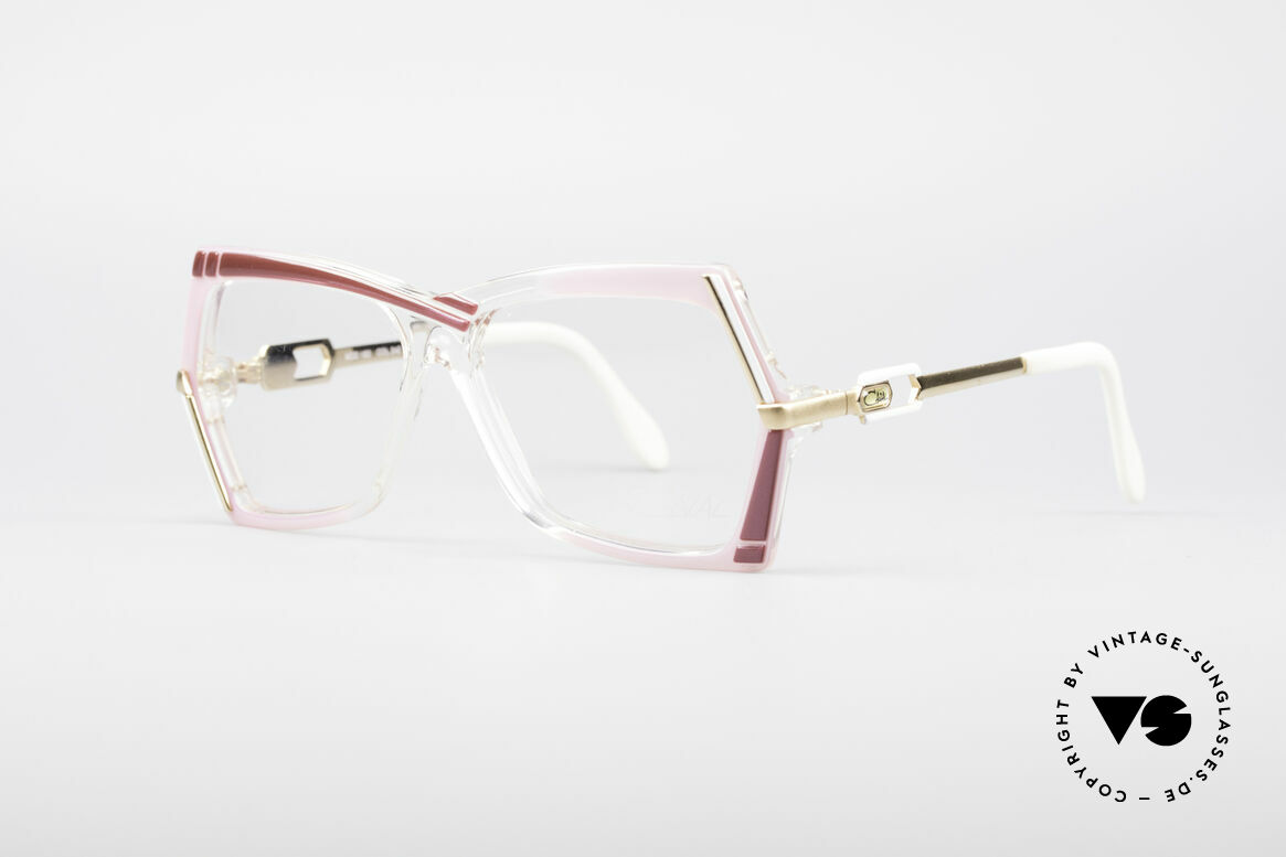 Cazal 183 80er Brille No Retrobrille, damals fester Bestandteil der US Hip-Hop Szene, Passend für Damen