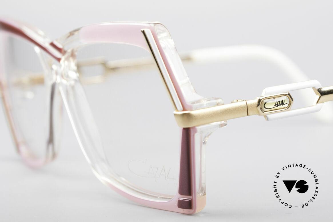 Cazal 183 80er Brille No Retrobrille, ungetragen (wie alle unsere alten Cazal-Unikate), Passend für Damen