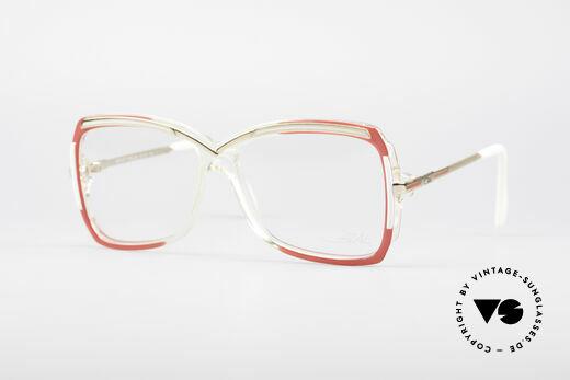 Cazal 177 80er Designerbrille Details