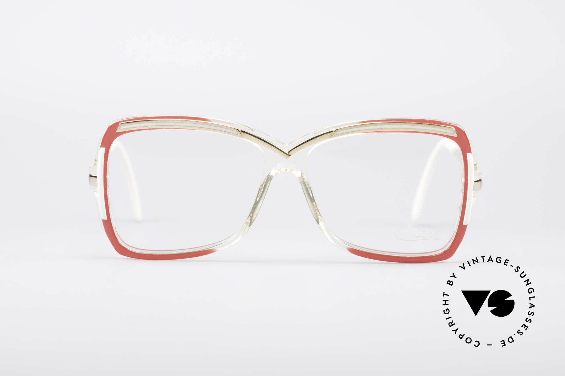 Cazal 177 80er Designerbrille, ein tolles altes Original und ein echter Hingucker, Passend für Damen