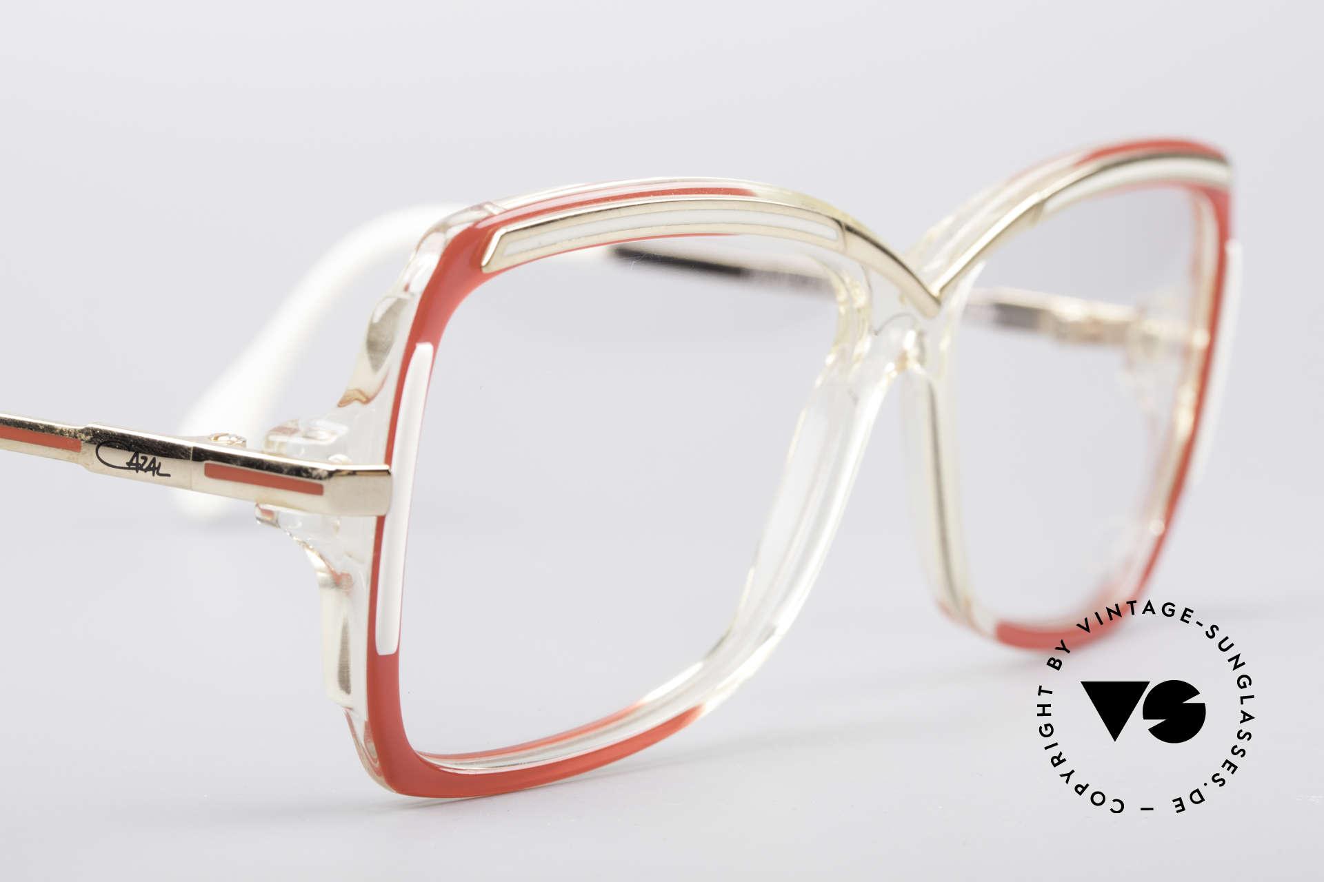 Cazal 177 80er Designerbrille, KEINE Retromode; ein einzigartiges 80er Original, Passend für Damen