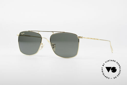 Ray Ban Vintage Rectangle Bausch&Lomb USA Brille Details
