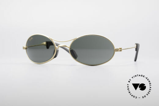 Ray Ban Orbs 9 Base Oval Oval B&L USA Sport Brille Details