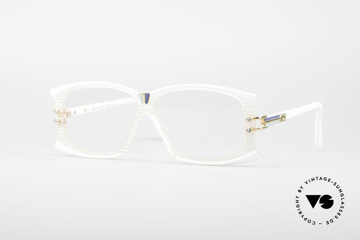 Cazal 195 80er Hip Hop Brille, wundervolles Cazal Designer-Brille aus den 1980ern, Passend für Damen