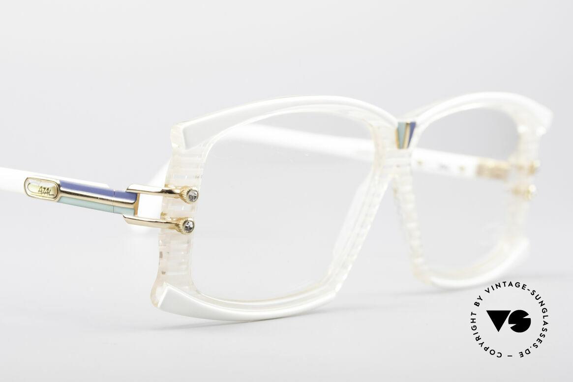 Cazal 195 80er Hip Hop Brille, aus in den 80ern und damals Teil der Hip-Hop Kultur, Passend für Damen
