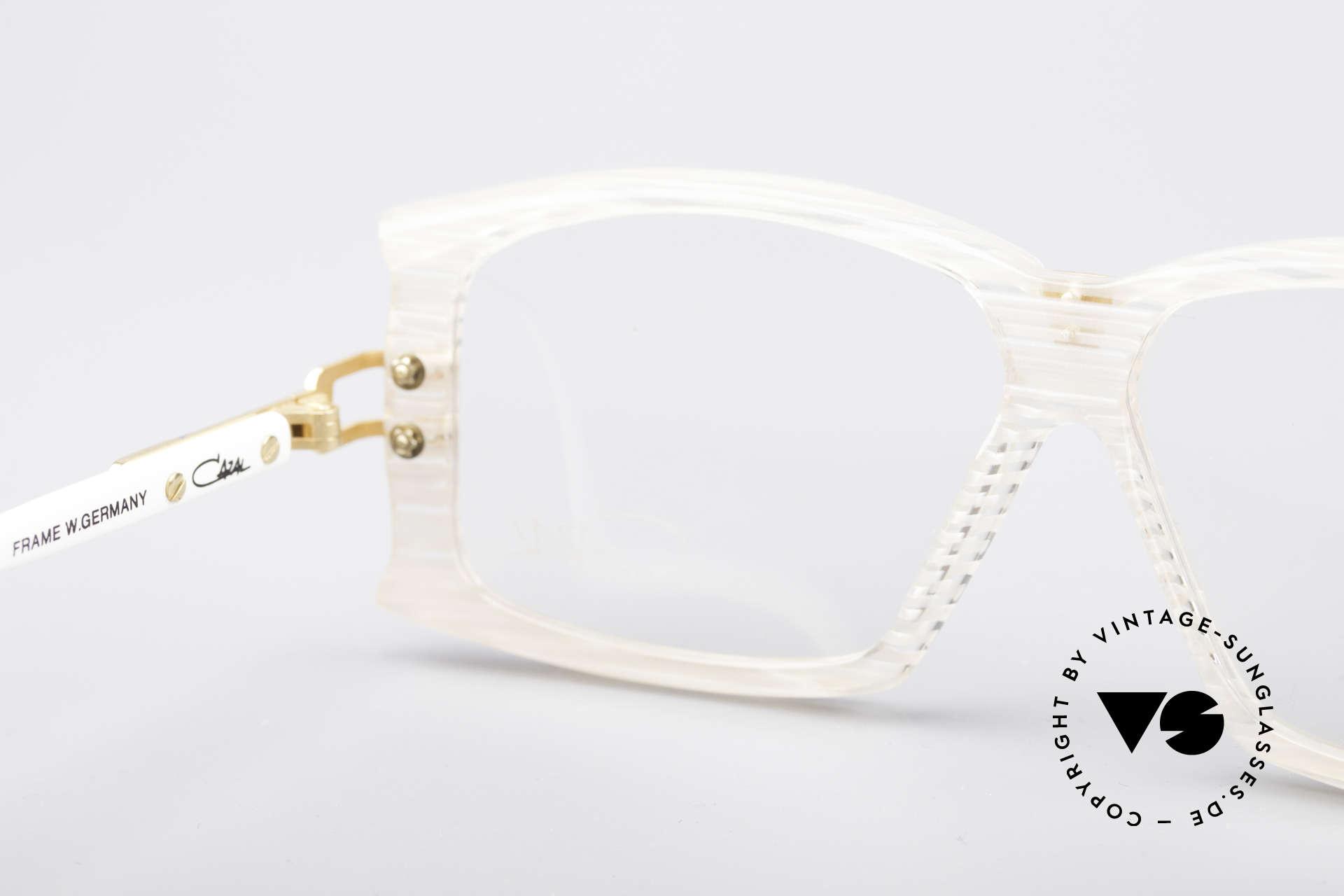 Cazal 195 80er Hip Hop Brille, ungetragen (wie alle unsere vintage Brillen von Cazal), Passend für Damen