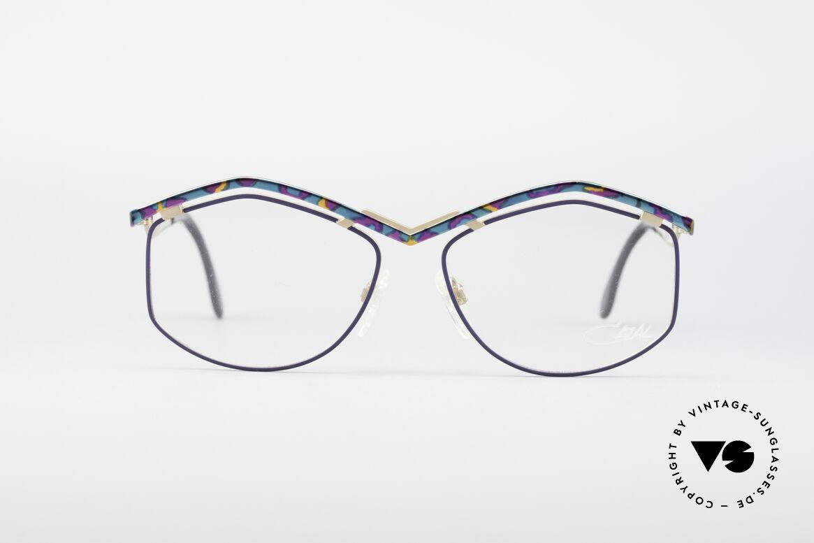 Cazal 249 Pop Art Design Titanium, Rahmen ist aus Titanium & wiegt daher nur 18g, Passend für Damen