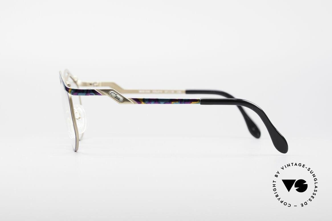Cazal 249 Pop Art Design Titanium, Keine Retrobrille; sondern ein altes Designerstück, Passend für Damen