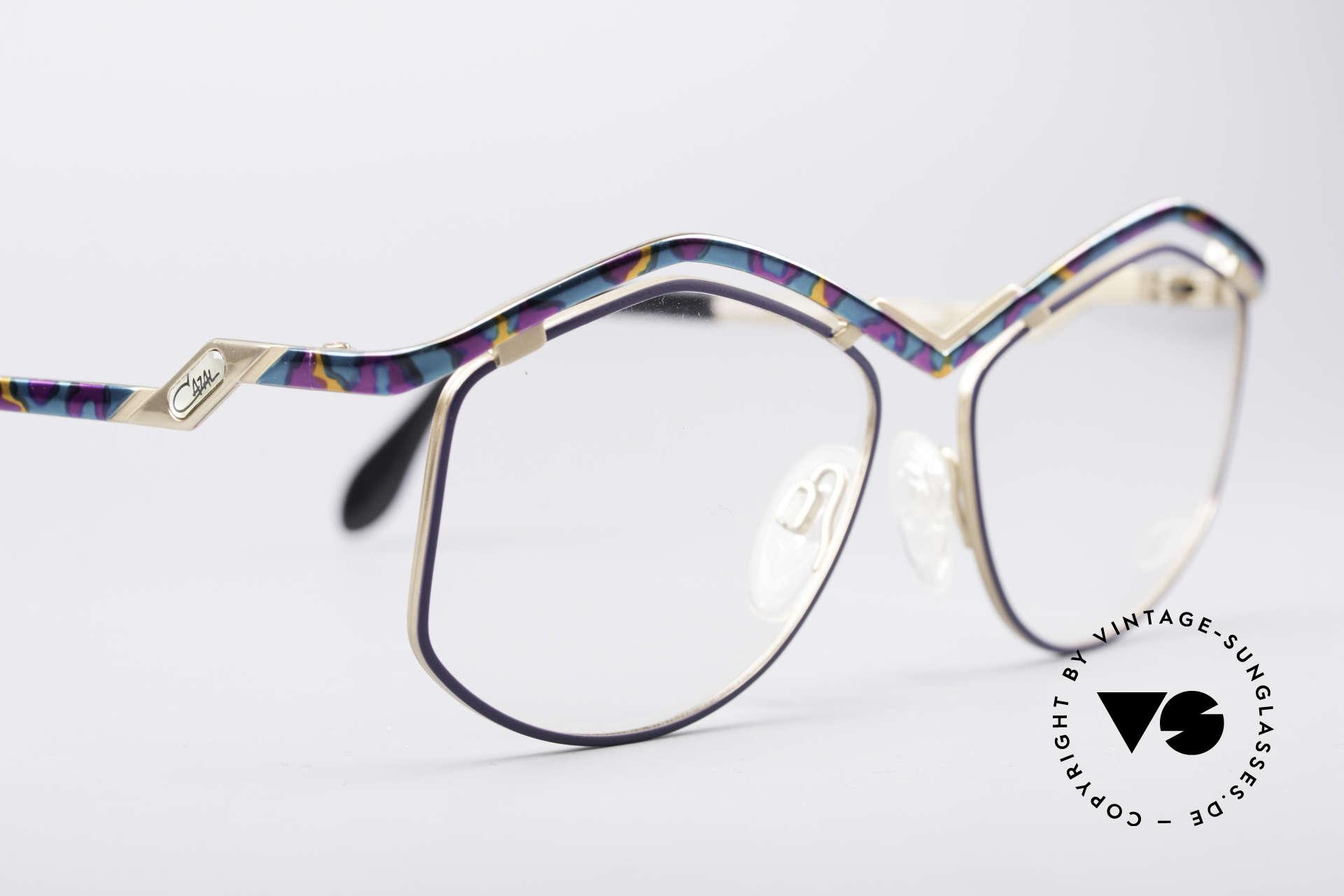 Cazal 249 Pop Art Design Titanium, Fassung kann natürlich beliebig verglast werden, Passend für Damen