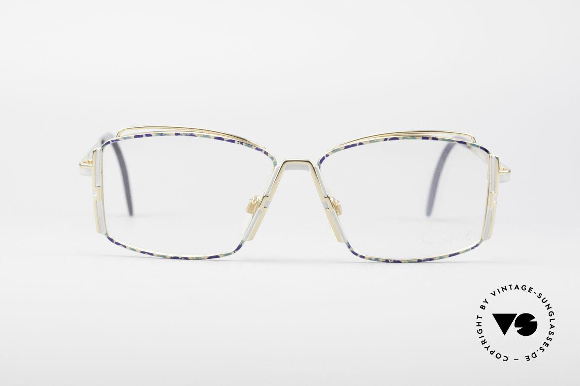 Cazal 264 No Retro Echt Vintage Brille, zauberhafte Brillenfassung von CaZal (Cari Zalloni), Passend für Damen