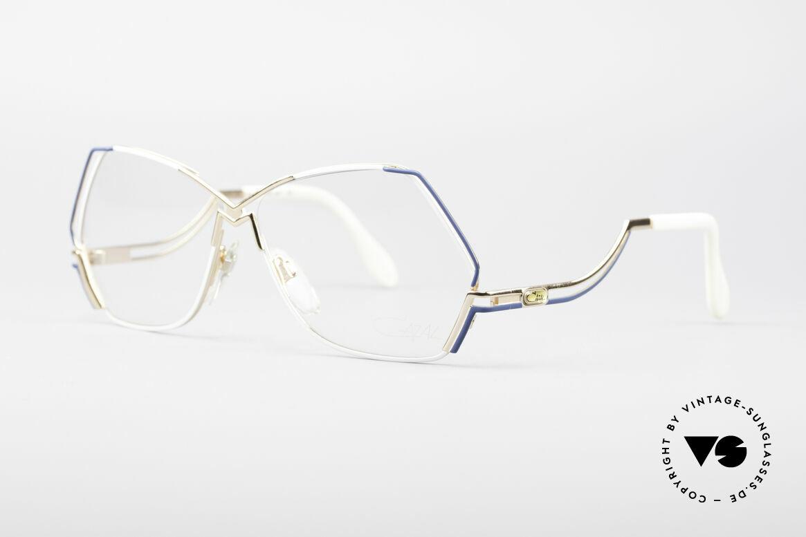 Cazal 226 West Germany Vintage Brille, edles, perfekt abgestimmtes Farbkonzept; Hingucker!, Passend für Damen
