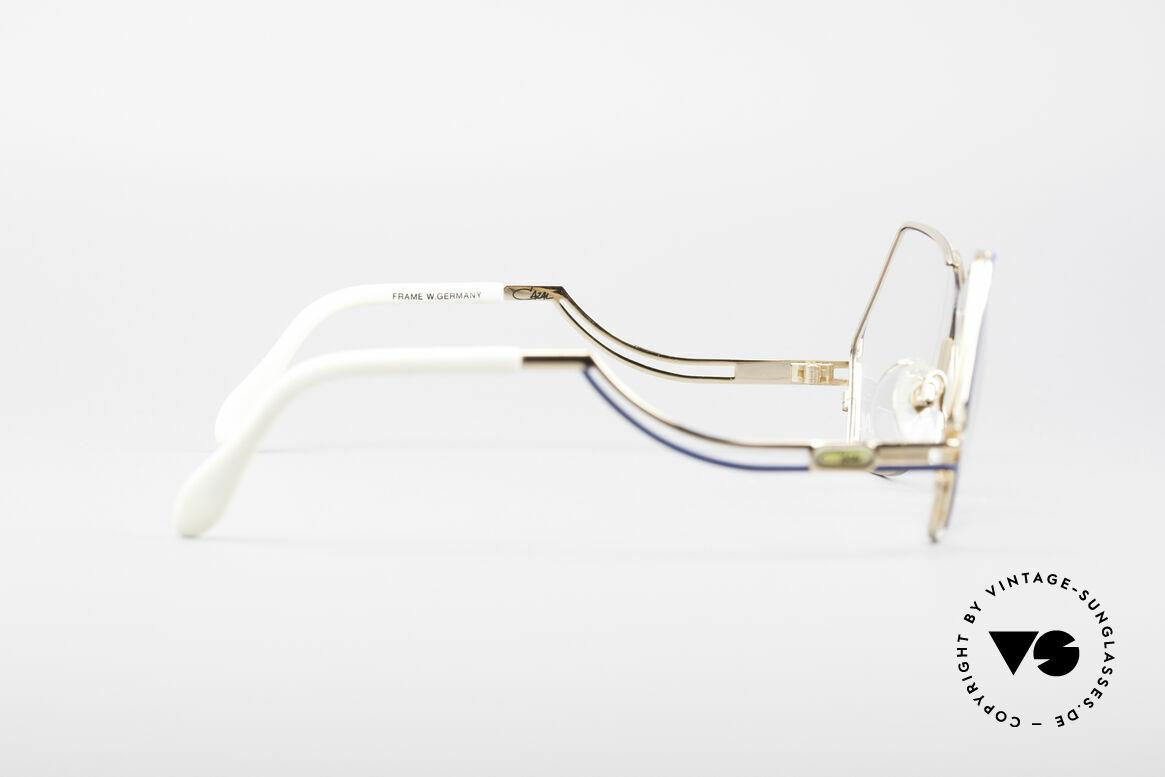 Cazal 226 West Germany Vintage Brille, die Fassung ist für optische (Sonnen)Gläser gemacht, Passend für Damen