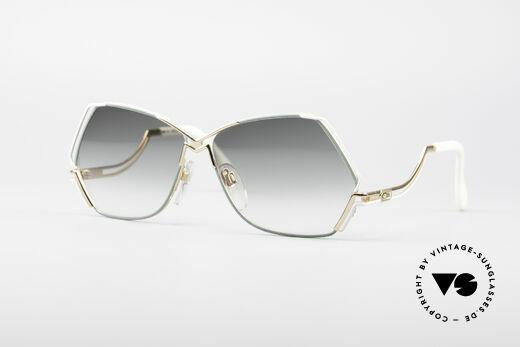 Cazal 226 Außergewöhnliche Sonnenbrille Details