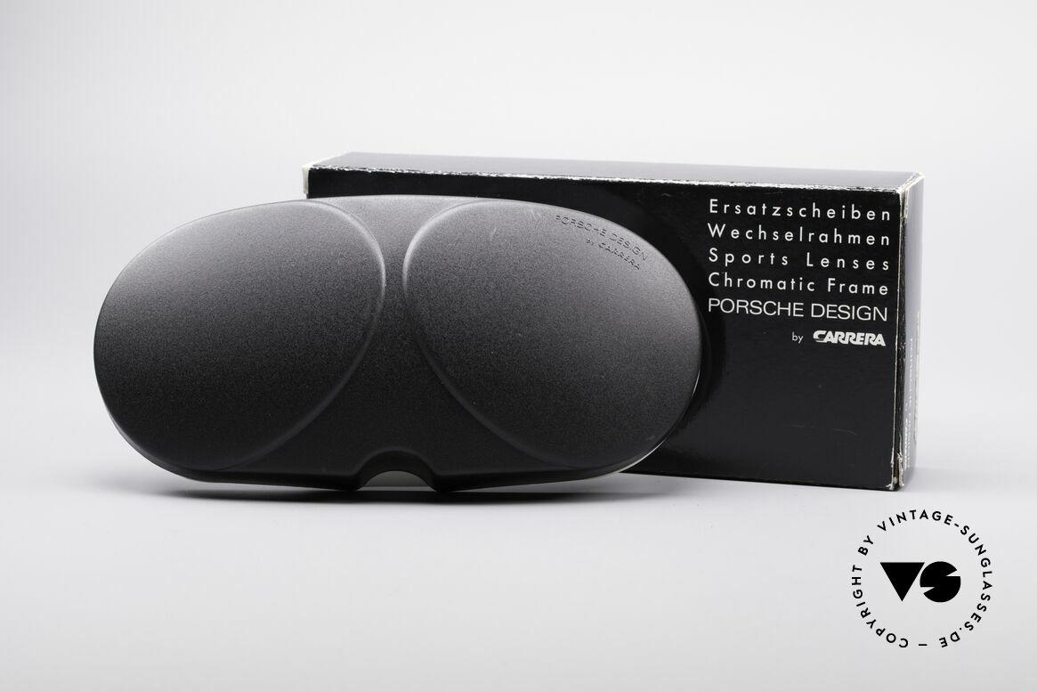 Porsche 5628 Lenses 80er Faltsonnenbrille, mit dem originalen 'Porsche Design' Aufdruck / Stempel, Passend für Herren und Damen