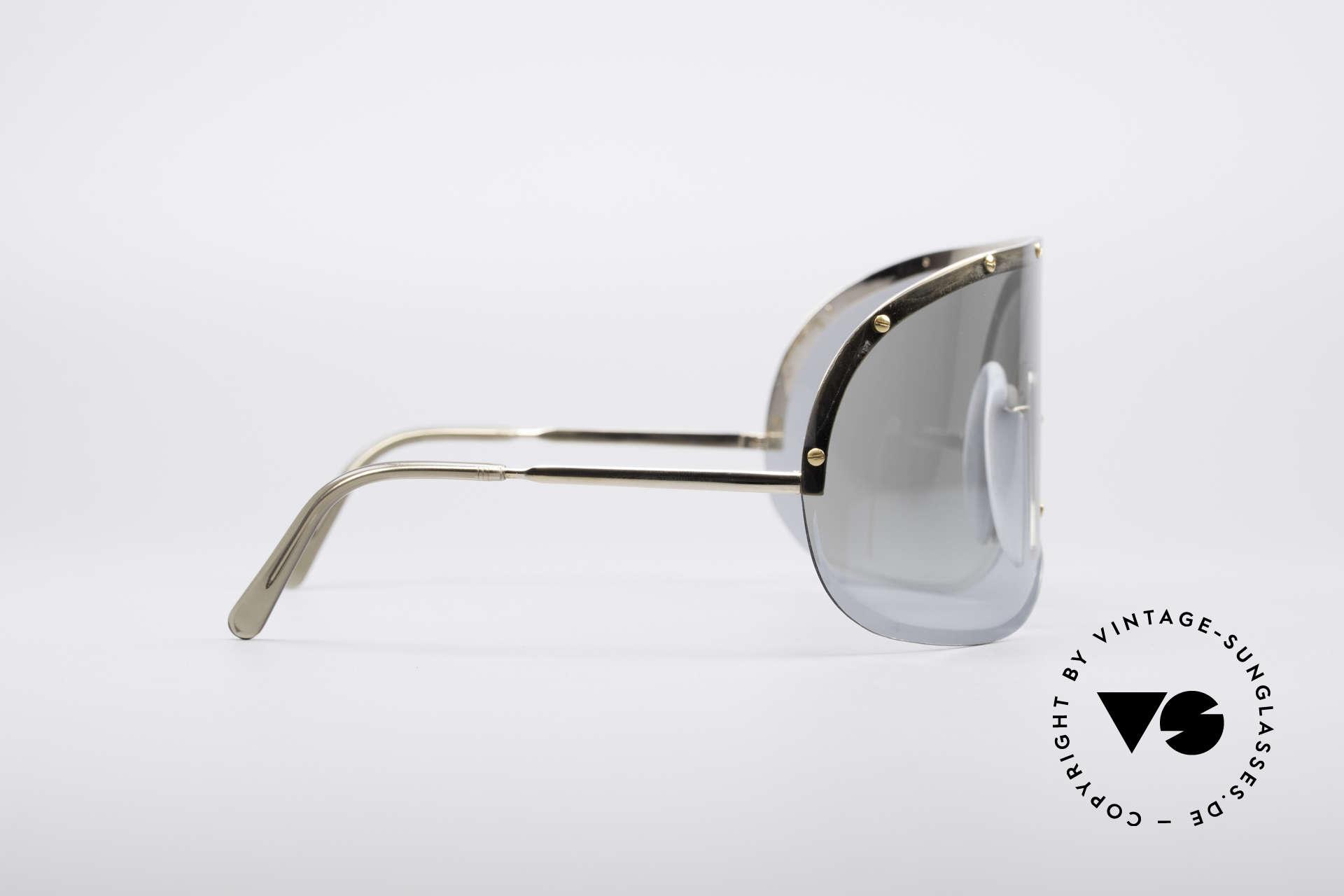 """Porsche 5620 Yoko Ono Sonnenbrille Gold, daher weltweit als die """"Yoko Ono Sonnenbrille"""" bekannt, Passend für Herren und Damen"""