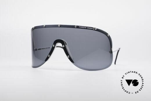 Porsche 5620 Yoko Ono Sonnenbrille Silber Details