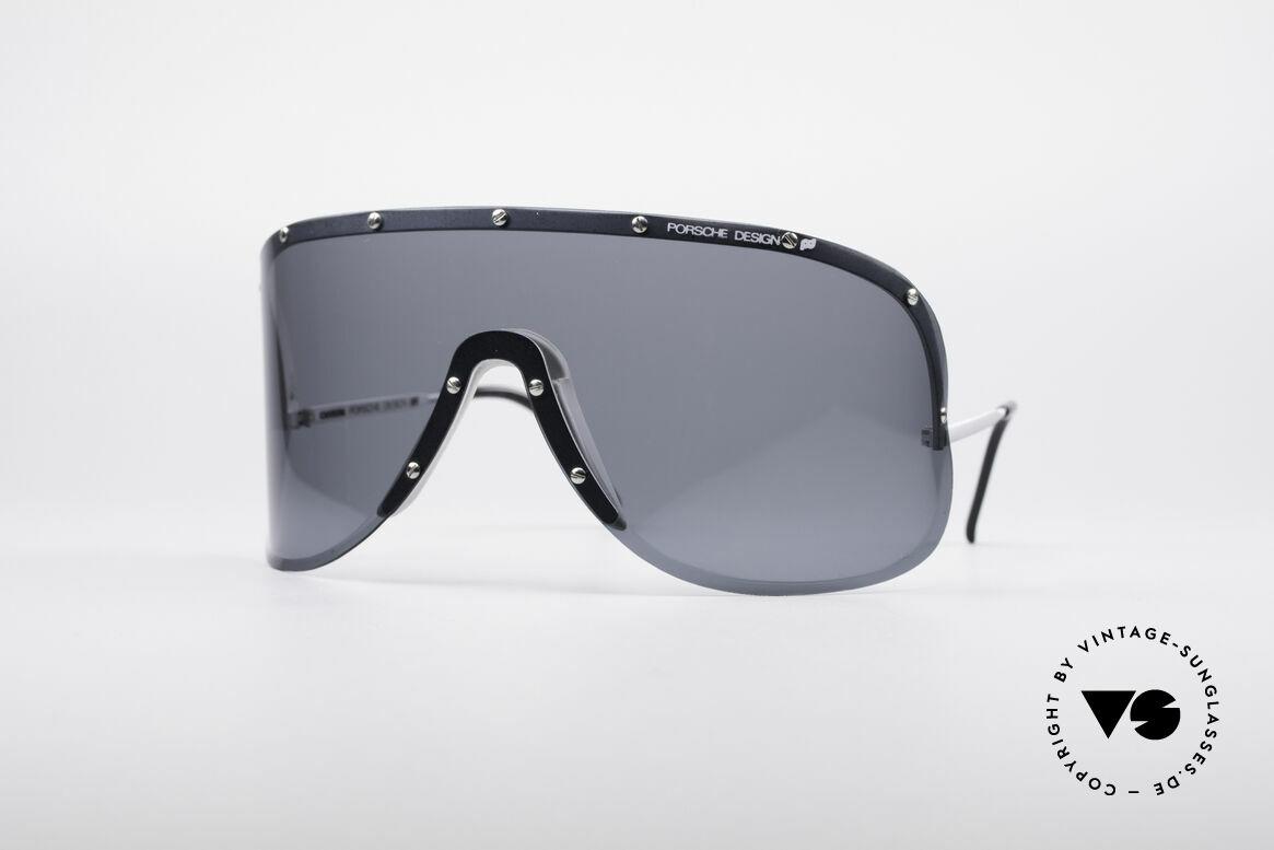 Porsche 5620 Yoko Ono Sonnenbrille, vintage Porsche Carrera Designersonnenbrille der 1980er, Passend für Herren und Damen
