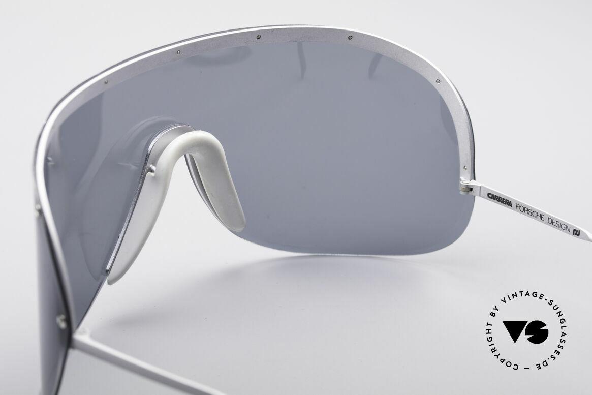 Porsche 5620 Yoko Ono Sonnenbrille, damals als Sportbrille konzipiert (polarisierende Scheibe), Passend für Herren und Damen
