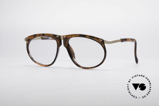 Porsche 5660 Einstellbare Vintage Brille Details
