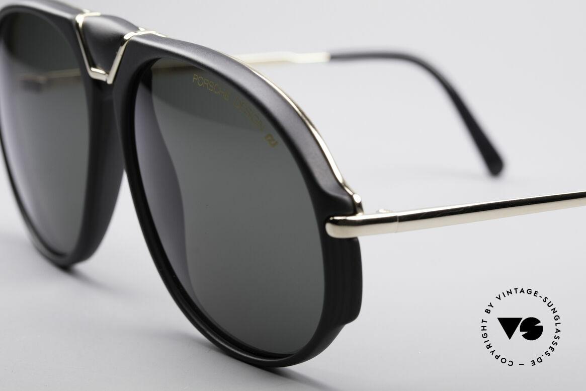 Porsche 5659 90er Wechselbrille Small, somit quasi zwei Sonnenbrillen in einer; einfach genial, Passend für Herren und Damen