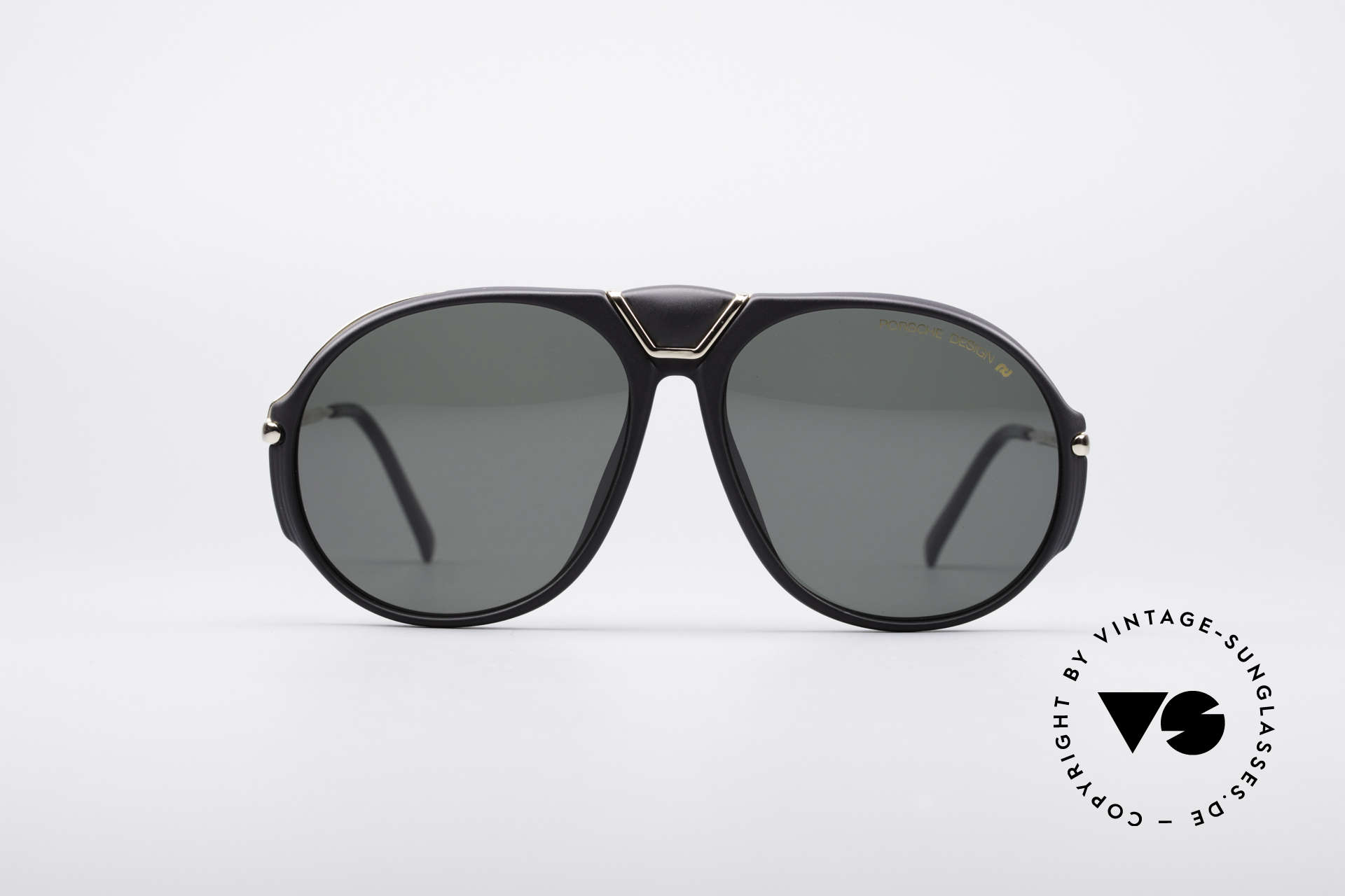 Porsche 5659 90er Wechselbrille Small, tolles 90er Brillen-Modell mit auswechselbaren Gläsern, Passend für Herren und Damen