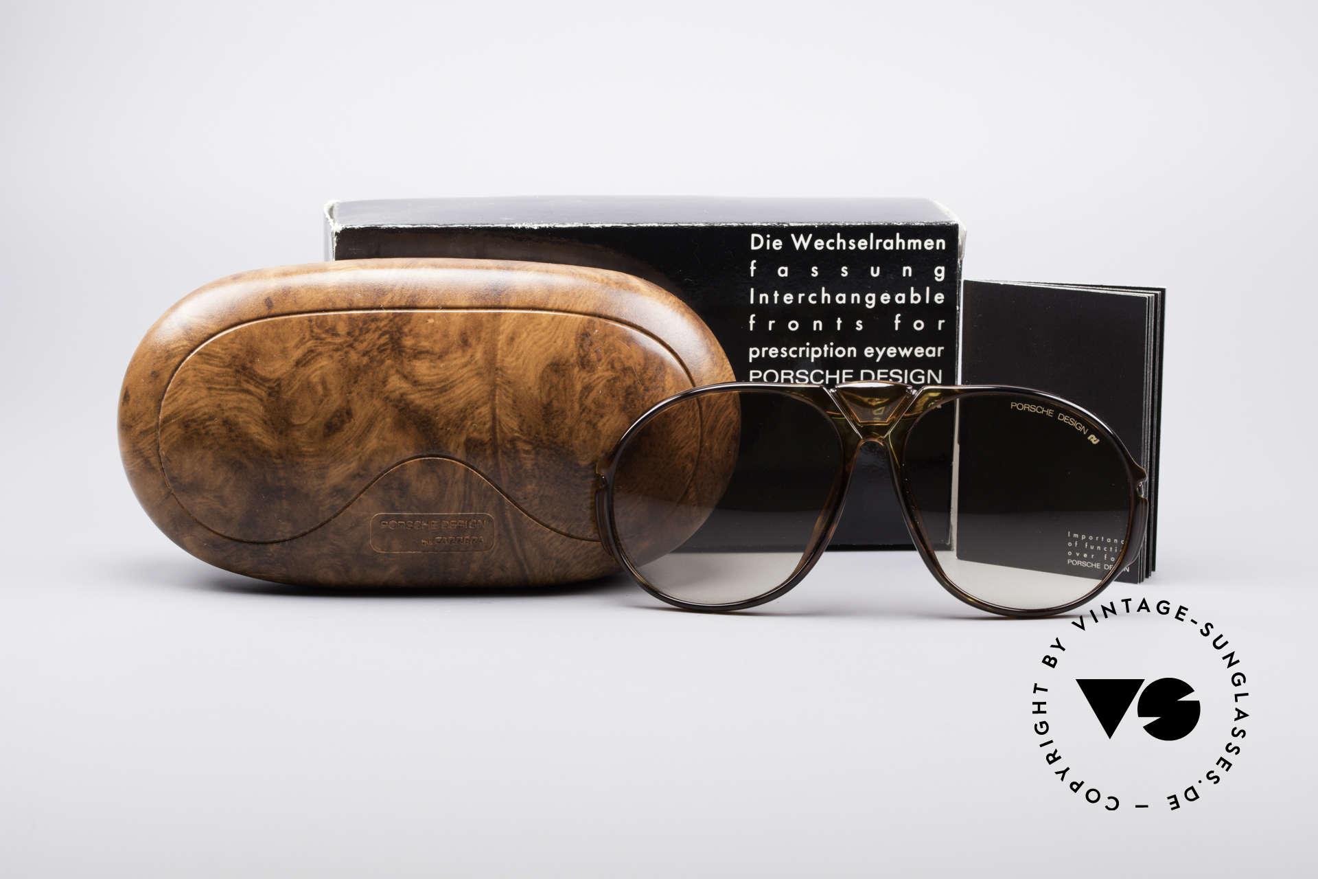 Porsche 5659 90er Wechselbrille Small, KEINE Retrosonnenbrille; ein seltenes 90er ORIGINAL!!, Passend für Herren und Damen