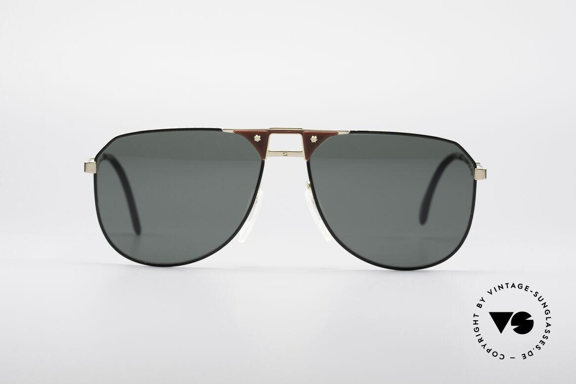 Zeiss 9928 Verstellbare Bügellänge, enorm hochwertige vintage Sonnenbrille von ZEISS, Passend für Herren