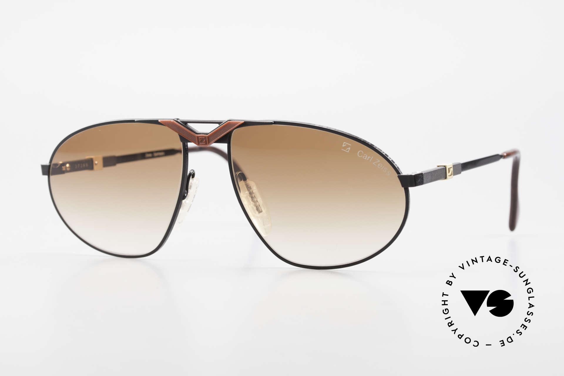 Zeiss 9929 Alte 80er Competition Serie, enorm hochwertige vintage Sonnenbrille von ZEISS, Passend für Herren