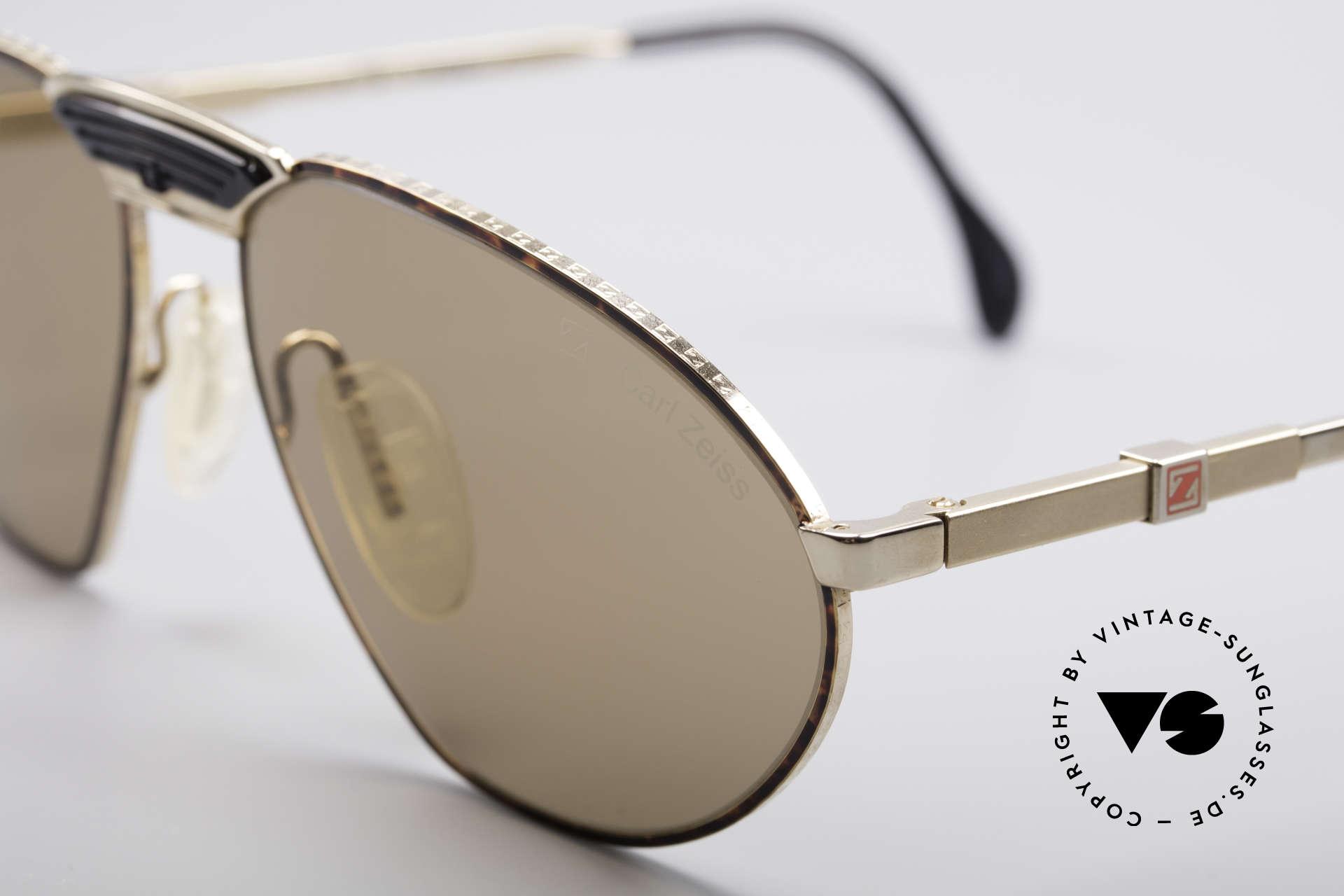 Zeiss 9927 80er Top Qualität Brille, für alle Liebhaber von Qualität und Understatement, Passend für Herren