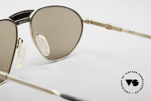 Zeiss 9927 80er Top Qualität Brille, ungetragenes, altes ORIGINAL inkl. orig. ZEISS Etui, Passend für Herren