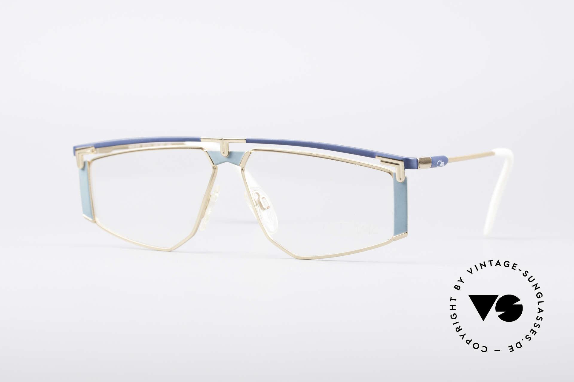 Cazal 235 Titanium Vintage 80er Cazal, vintage Cazal Titanium Brillenfassung von circa 1988, Passend für Herren und Damen