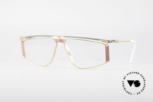 Cazal 235 Rare Titanium Vintage Brille Details