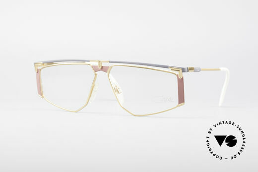Cazal 235 Titanium Vintage Brille Details