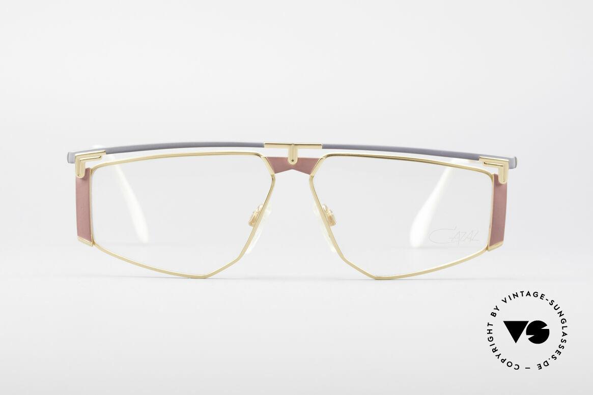 Cazal 235 Rare Titanium Vintage Brille, Titanium-Rahmen wiegt nur 18g (hoher Tragekomfort), Passend für Herren und Damen