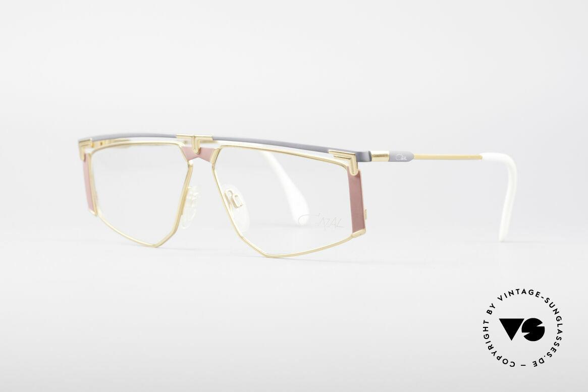 Cazal 235 Rare Titanium Vintage Brille, markantes Design (unverwechselbar Mr. CAri ZALloni), Passend für Herren und Damen