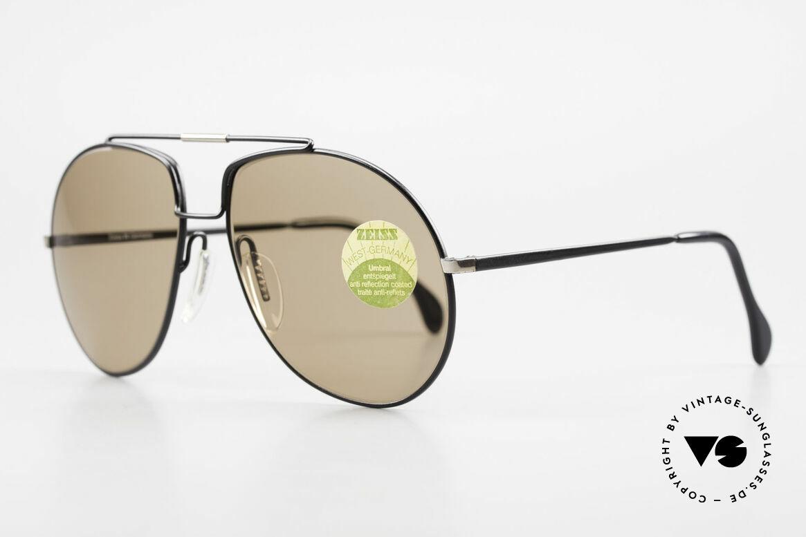 Zeiss 9369 Echt 80er Umbral Mineralglas, Premium UMBRAL-Mineralgläser (für 100% UV Schutz), Passend für Herren