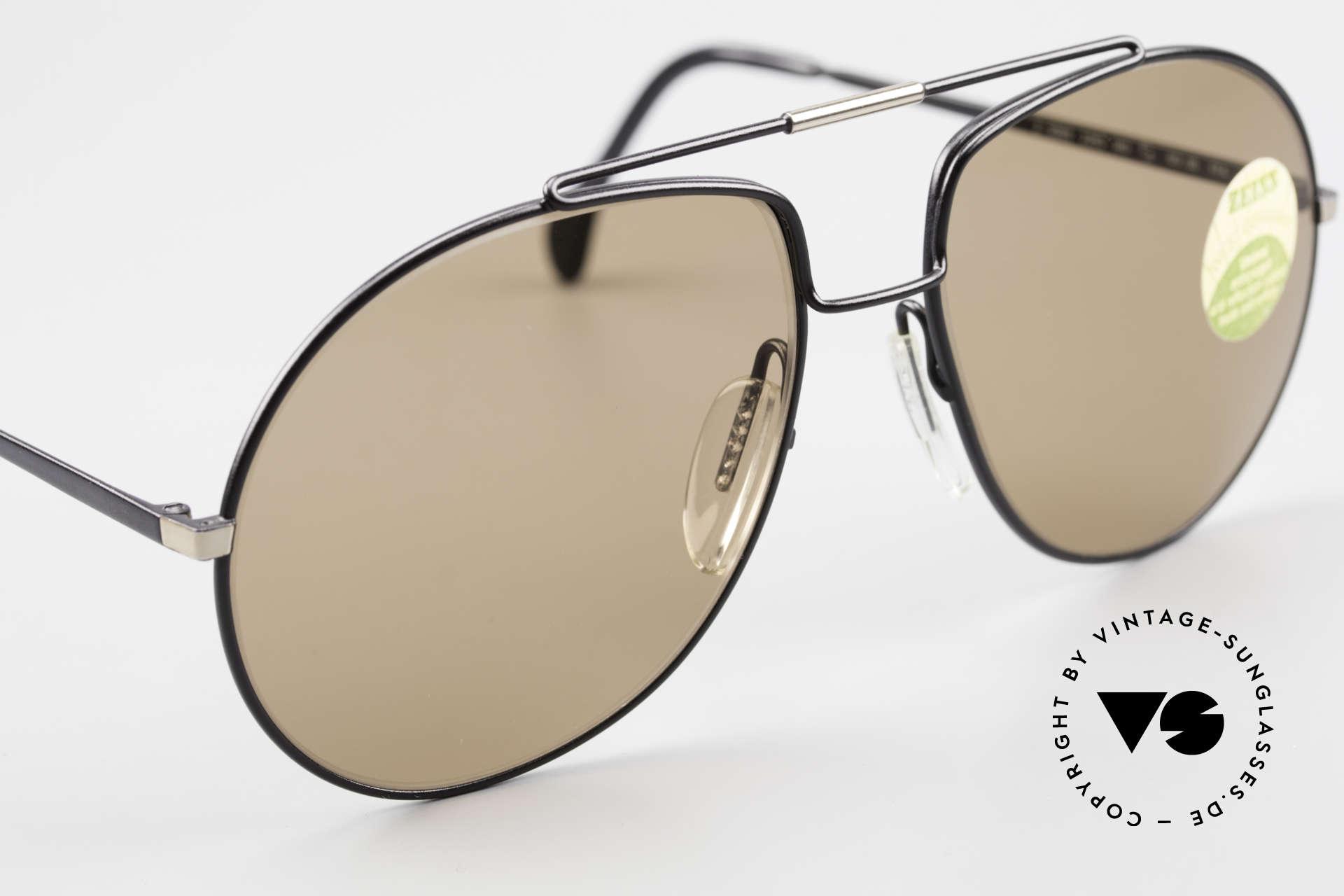 Zeiss 9369 Echt 80er Umbral Mineralglas, ungetragen (wie alle unsere vintage Zeiss Sonnenbrillen), Passend für Herren