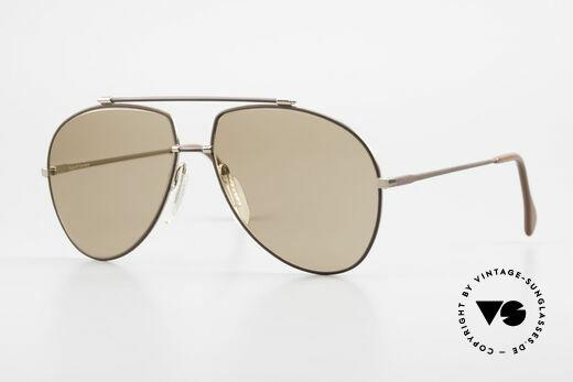 Zeiss 9371 80er Brille Mineralverglasung Details