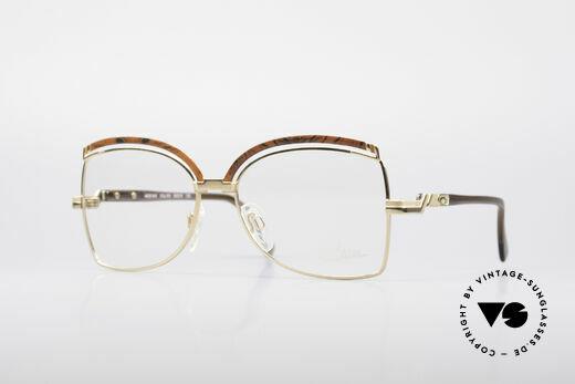 Cazal 240 90er Damen Designerbrille Details