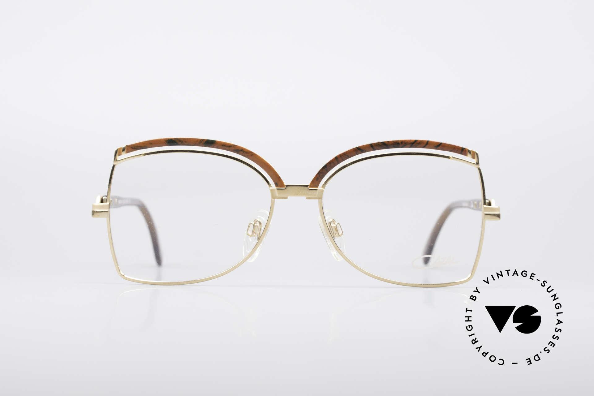 Cazal 240 90er Damen Designerbrille, zauberhafte Kreation von Cari Zalloni (CAZAL), Passend für Damen
