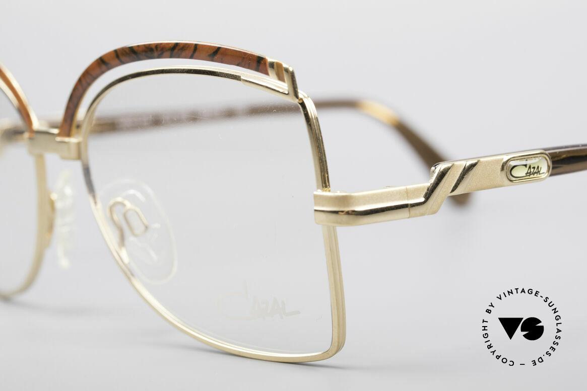 Cazal 240 90er Damen Designerbrille, ungetragen (wie alle unsere alten Cazal Modelle), Passend für Damen
