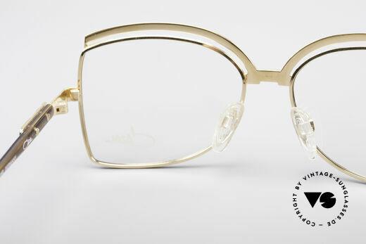 Cazal 240 90er Damen Designerbrille, Demogläser sollten durch optische ersetzt werden, Passend für Damen