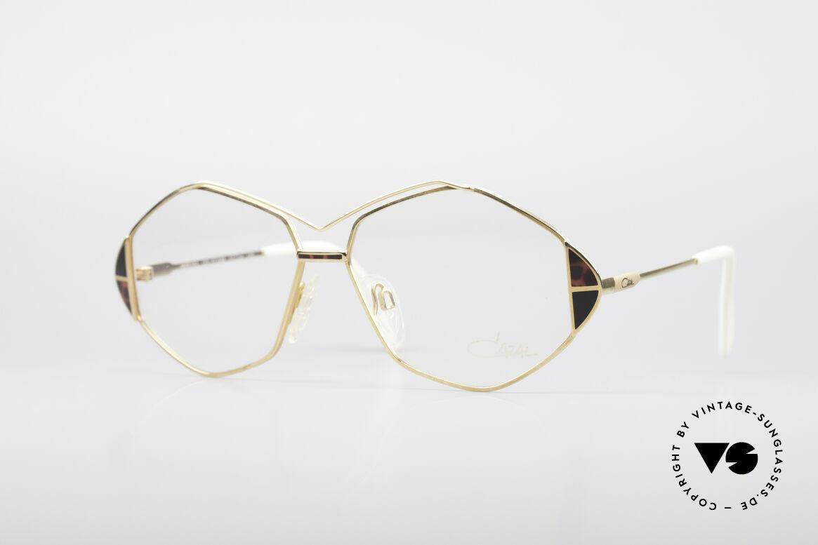 Cazal 233 Echt Vintage No Retro Brille, außergewöhnliche Cazal Brille von ca. 1989/1990, Passend für Damen